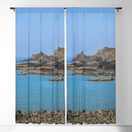 Devon Coastline. Blackout Curtain