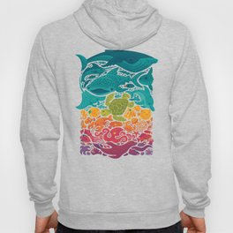 Aquatic Spectrum Hoody