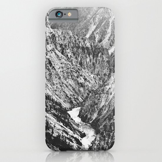 Canyon Black and White iPhone & iPod Case