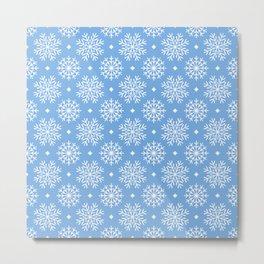 Snowflake pattern Metal Print