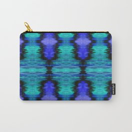 Bright Night Ikat pattern Carry-All Pouch
