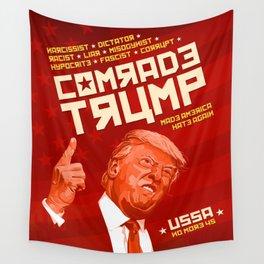 Comrade Trump - Soviet Poster Wall Tapestry