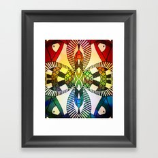 Ubiquitous Bird Collection11 Framed Art Print