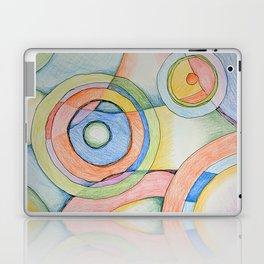Circles Vibrant Laptop & iPad Skin