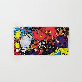Comic Book Color Board Mix Hand & Bath Towel