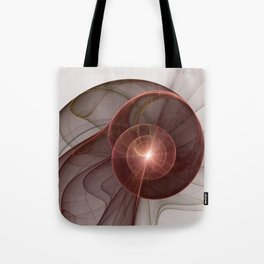 Abstract Digital Art, Fantasy Figure Tote Bag
