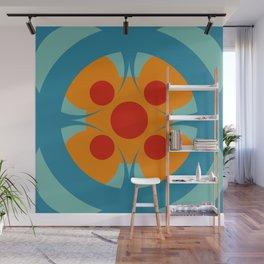 Colorful Genuine Circle Cipactli Wall Mural
