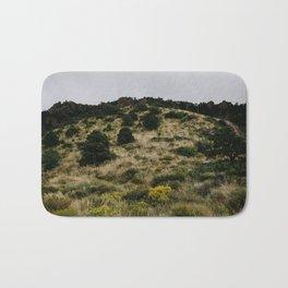 Hill of Green in Big Bend National Park, TX Bath Mat