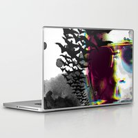 hunter s thompson Laptop & iPad Skins featuring Hunter S by theCword