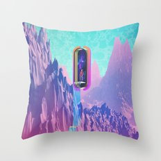 Cosmic Drain Throw Pillow