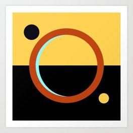 Flag of Mars Art Print