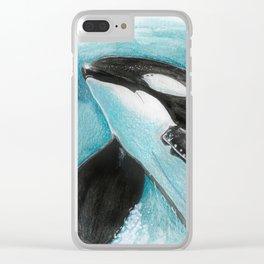 Tilikum Clear iPhone Case