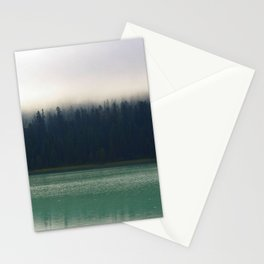 Faded Forest And Lake Stationery Cards