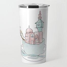 Cairo, Coffee, Birdhouse Travel Mug