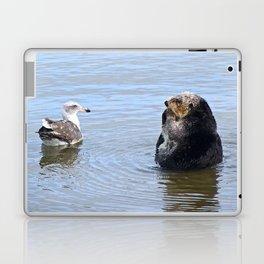 otter and gull Laptop & iPad Skin