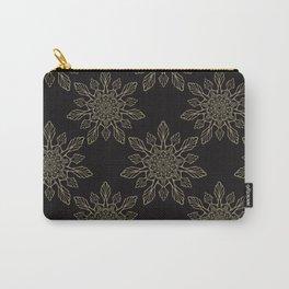 Flourish Floral Arabesque Mandalas Carry-All Pouch