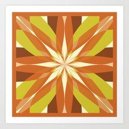 Flowering Quilt Art Print