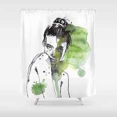 small piece 30 Shower Curtain