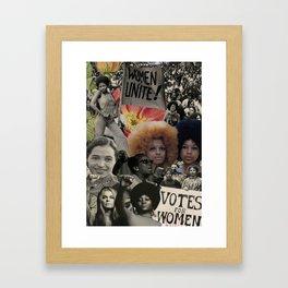 Rise of the Divine Feminine Framed Art Print