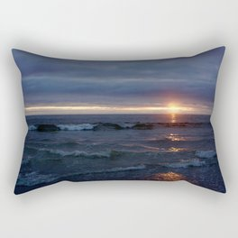 Sunset Sizzle Rectangular Pillow