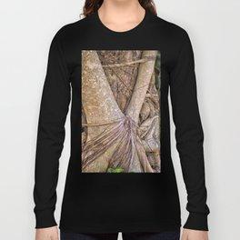 Strangler fig close up view Long Sleeve T-shirt