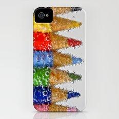 Bubble Pencils Slim Case iPhone (4, 4s)