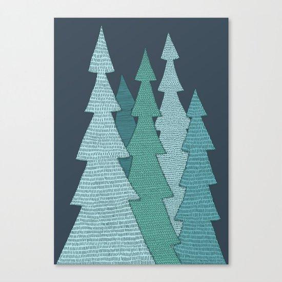 Pines Canvas Print