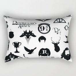 potter's head Rectangular Pillow