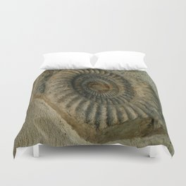 Ammonite Duvet Cover