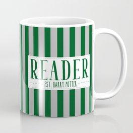 Reader Est. Slytherin Coffee Mug