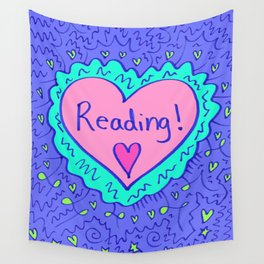 Reading! Wall Tapestry