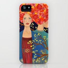 les ames soeurs iPhone Case