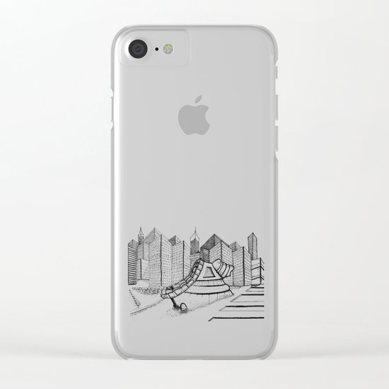 fantastic house Clear iPhone Case