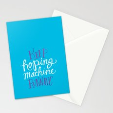 Hoping Machine Stationery Cards