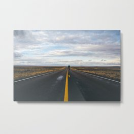 Explore The Open Road Metal Print