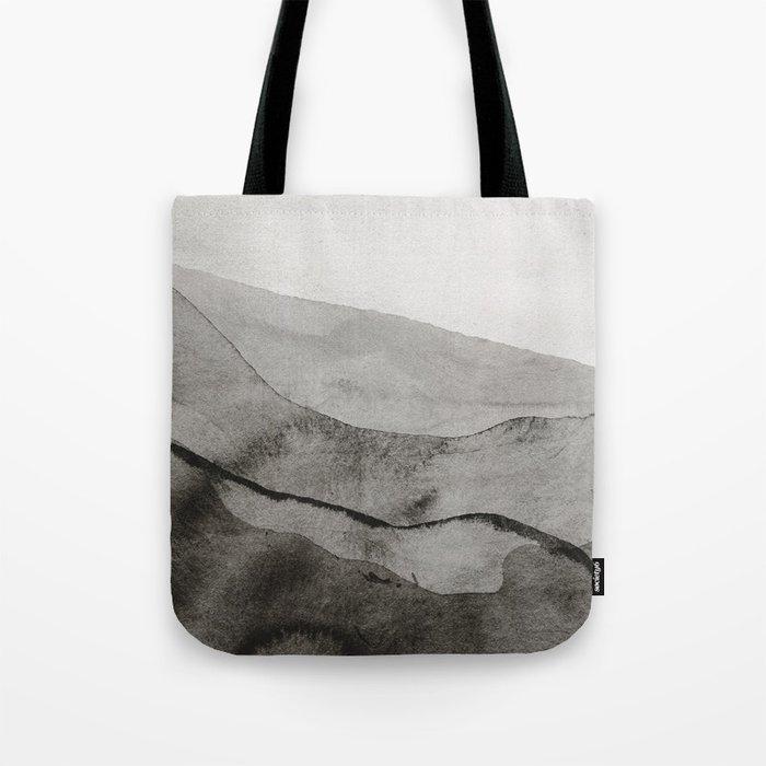 Ink Layers Tote Bag