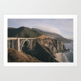 That Big Sur Bridge Art Print