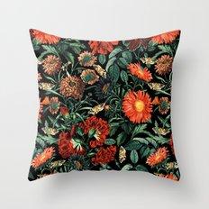 NIGHT FOREST XVIII Throw Pillow