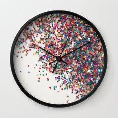 Fun II (NOT REAL GLITTER) Wall Clock