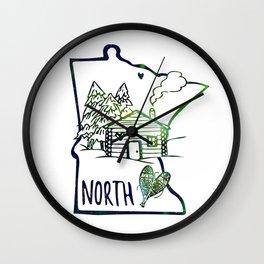 Northland Love Wall Clock