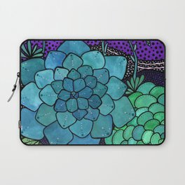 Succulent Sunset Laptop Sleeve