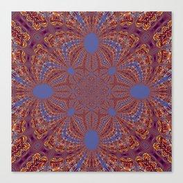 Sequential Baseline Mandala 12o Canvas Print