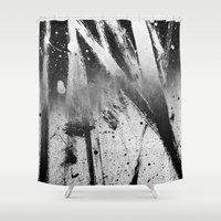 the xx Shower Curtains featuring Abstract XX by morenina
