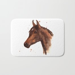 Stallion Gaze Bath Mat
