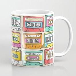 Nostalgia Audio Music Mix Cassette Tape Coffee Mug
