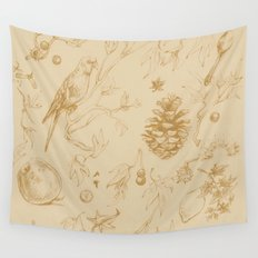 Nature pattern Wall Tapestry