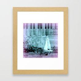 under sail Framed Art Print