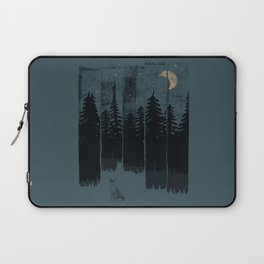 A Fox in the Wild Night... Laptop Sleeve