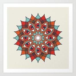 Bali Eyes 1 Art Print