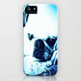PUG LOVE ~ A Lovely Little Old Lady iPhone Case